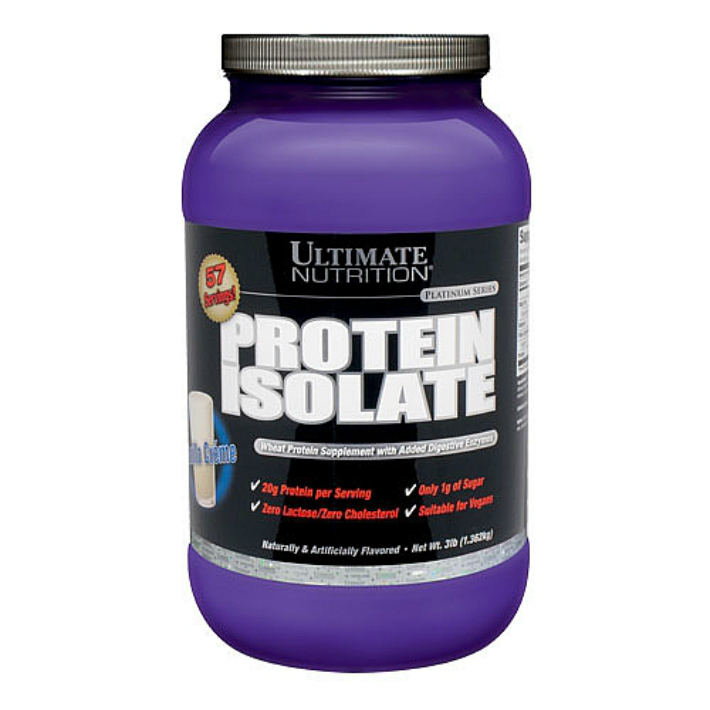Ultimate Nutrition Protein Isolate